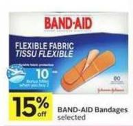 Band-aid Bandages - 10 Air Miles Bonus Miles
