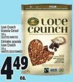 Love Crunch Granola Cereal