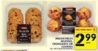 Irresistibles Muffins - Croissants Or Cookies