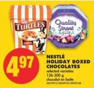 Nestlé Holiday Boxed Chocolates - 126-300 g
