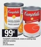 Campbell's Condensed - Cream Or Cooking Soup - 284 mL