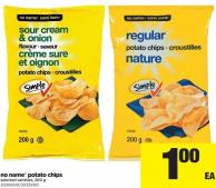 No Name Potato Chips 200 g