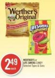 Werther's or Life Savers Candy
