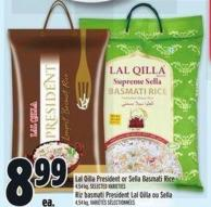 Lal Qilla President Or Sella Basmati Rice
