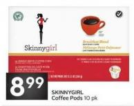 Skinnygirl Coffee Pods