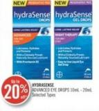 Hydrasense Advanced Drops 10ml - 20ml