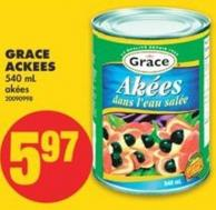 Grace Ackees - 540 mL