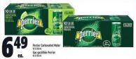 Perrier Carbonated Water