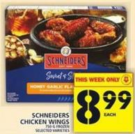Schneiders Chicken Wings