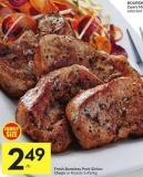 Fresh Boneless Pork Sirloin Chops