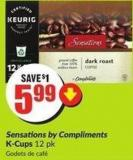 Sensations By Compliments K-cups 12 Pk