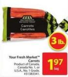 Your Fresh Market Carrots