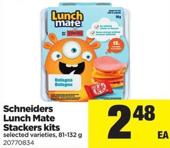 Schneiders Lunch Mate Stackers Kits - 81-132 G