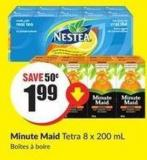 Minute Maid Tetra 8 X 200 mL