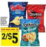 Tostitos - Ruffles Potato Chips Or Doritos