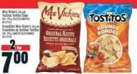 Miss Vickie's 220 g Or Tostitos Tortilla Chips 205 - 295 g