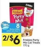 Friskies Party Mix Cat Treats 170 g - 8 Air Miles Bonus Miles