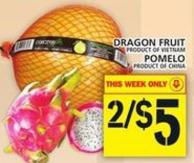 Dragon Fruit or Pomelo