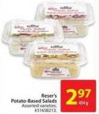 Reser's Potato-based Salads