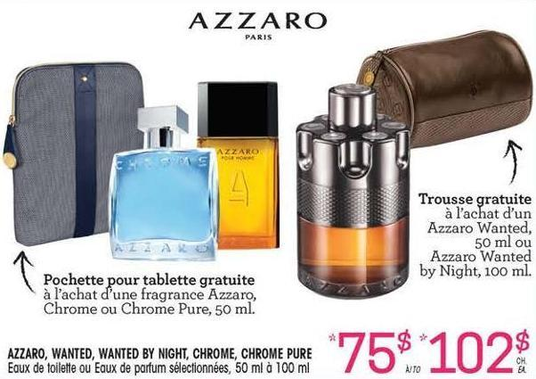 Azzaro Wanted Wanted By Night On Sale Salewhaleca
