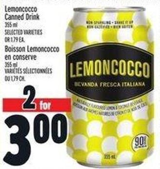 Lemoncocco Canned Drink
