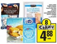 High Liner Family Packs Or Selection Fish Fillets Or Irresistibles Uncooked Pacific White Shrimp