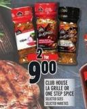 Club House La Grille Or One Step Spice