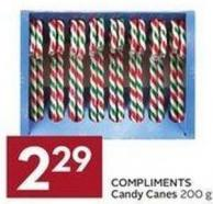 Compliments Candy Canes