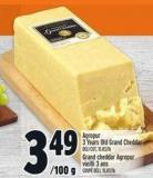 Agropur 3 Years Old Grand Cheddar