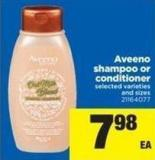 Aveeno Shampoo Or Conditioner