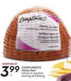 Compliments Honey Ham
