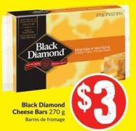 Black Diamond Cheese Bars 270 g
