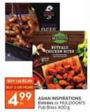 Asian Inspirations Entrées