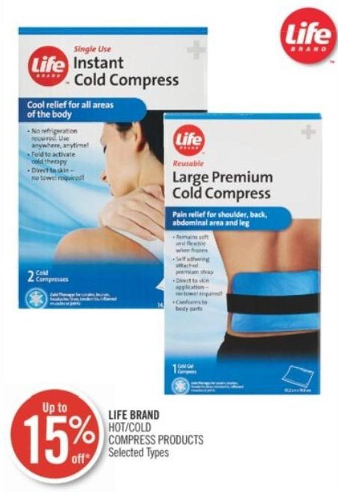 Life Brand Hot/cold Compress Products