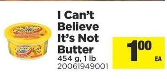 I Can't Believe It's Not Butter - 454 g - 1 Lb