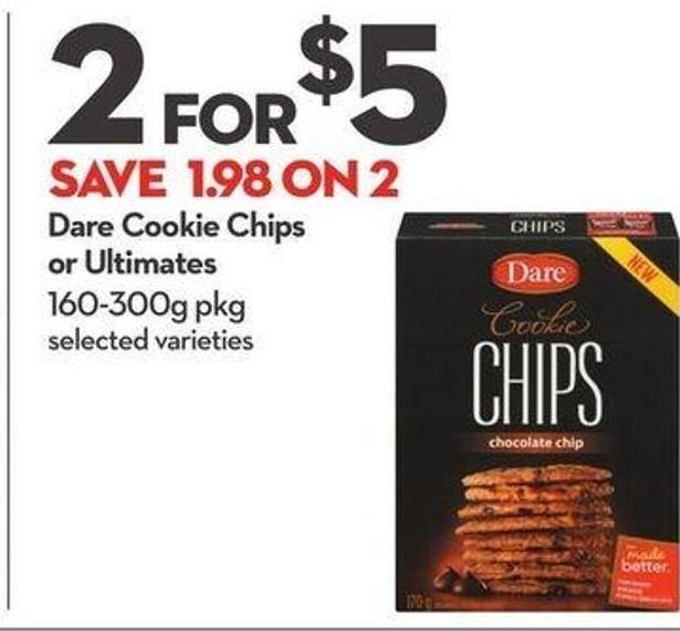 Dare Cookie Chips or Ultimates