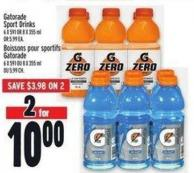 Gatorade Sport Drinks 6 X 591 Or 8 X 355 ml Or 5.99 Ea.