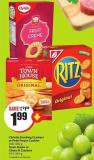 Christie Snacking Crackers or Peek Freans Cookies 100-450 g Town House or Cheez-it Crackers 191-391 g