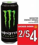 Monster Energy Drinks - 473 mL