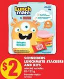 Schneiders Lunchmate Stackers And Kits - 81-132 g