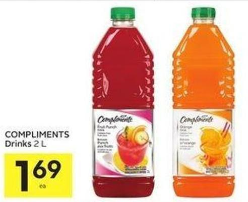 Compliments Drinks 2 L