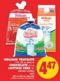 Neilson Trutaste (1% - 2% or Skim) or Chocolate - 4 L or Lactose Free - 2 L