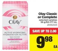 Olay Classic Or Complete - 56 G/60-177 mL