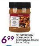 Sensations By Compliments 100% Natural Almond Butter