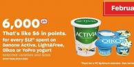 Danone Activa - Light&free - Oikos Or Yopro Yogurt