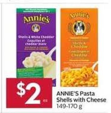 Annie's Pasta Shells With Cheese