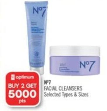 No7 Facial Cleansers