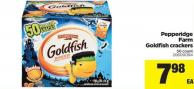 Pepperidge Farm Goldfish Crackers - 50 Count