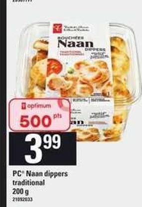 PC Naan Dippers Traditional - 200 g