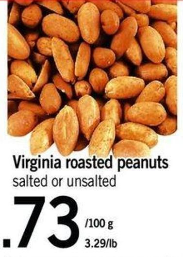 Virginia Roasted Peanuts